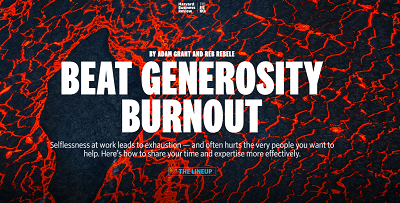 generosity-burnout-harvard-business-review